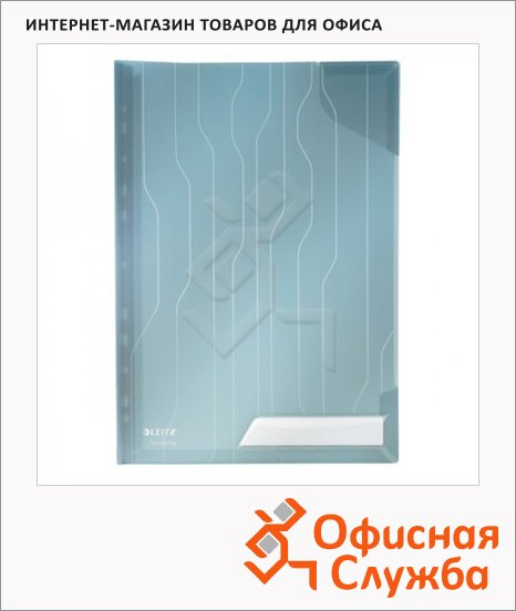 фото: Папка-уголок Leitz CombiFile Standard синяя A4, 200мкм, 5 шт/уп, 47260035
