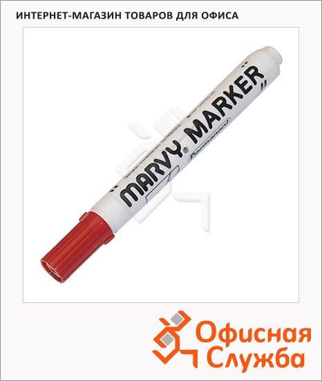 фото: Маркер перманентный Marvy 482В красный 1-3мм, круглый наконечник