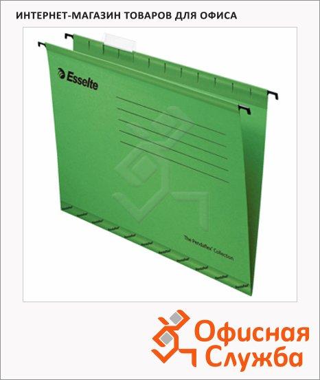 фото: Папка подвесная стандартная А4 Esselte Standart зеленая 25 шт/уп