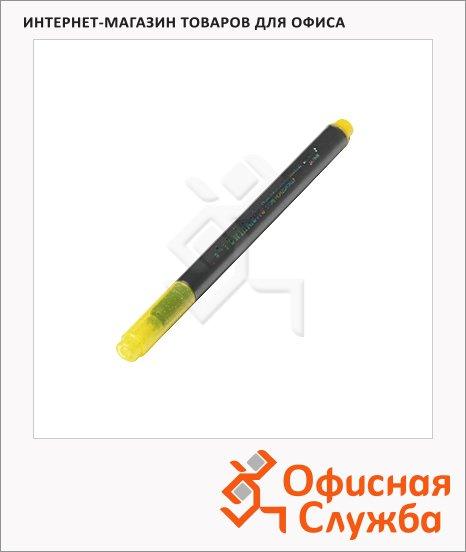 Маркер с блестками Marvy М812, 1-2мм, круглый наконечник, желтый