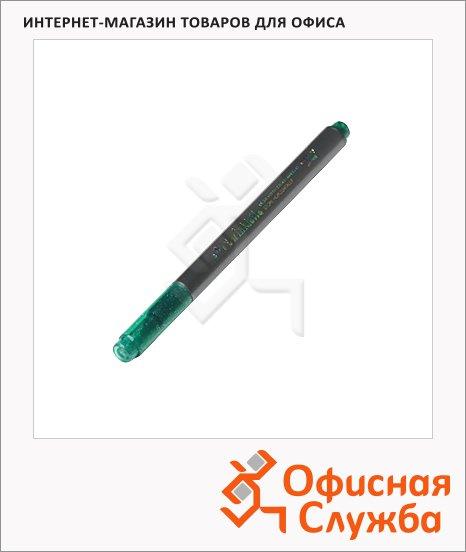 фото: Маркер для скрапбукинга Marvy 812 зеленый 1-2мм, круглый наконечник, с блестками