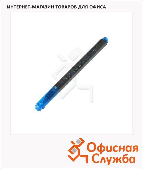 Маркер для скрапбукинга Marvy 812 синий, 1-2мм, круглый наконечник, с блестками