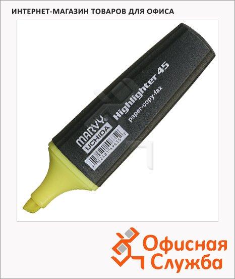 фото: Текстовыделитель М-45 зеленый 1-5мм, скошенный наконечник