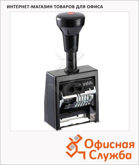 Нумератор с автоматической сменой номера Reiner 6 разрядов, B6K, 5.5мм
