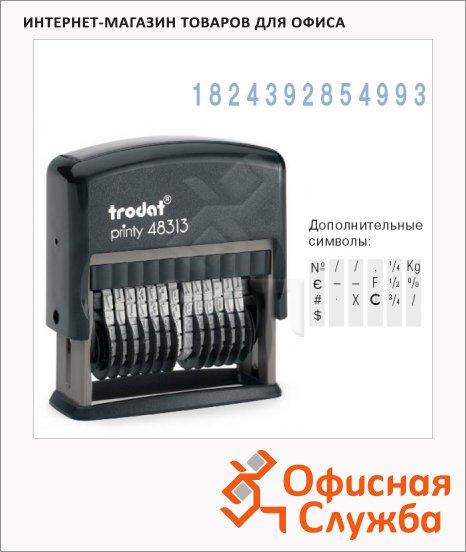 Нумератор с автоматической оснасткой Trodat Printy 13 разрядов, 3.8мм, 4836