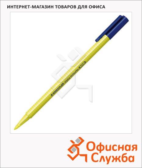 Текстовыделитель Staedtler Triplus Textsurfer 362 желтый, 1-4мм, круглый наконечник