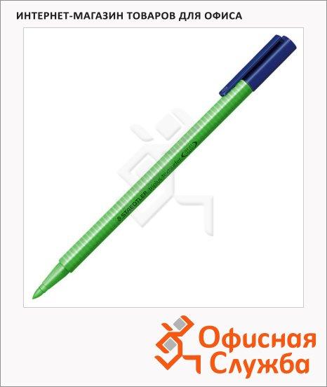 Текстовыделитель Staedtler Triplus Textsurfer 362 зеленый, 1-4мм, круглый наконечник
