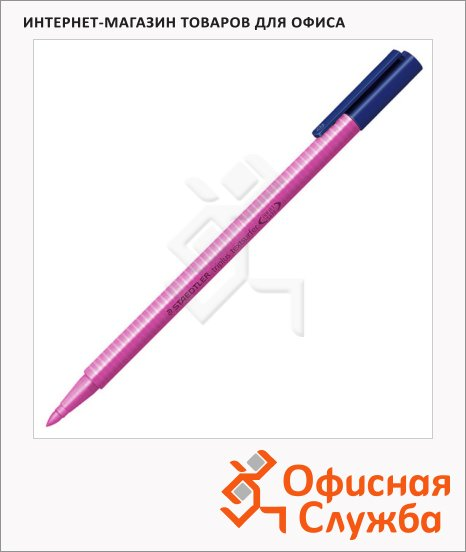 Текстовыделитель Staedtler Triplus Textsurfer 362 розовый, 1-4мм, круглый наконечник