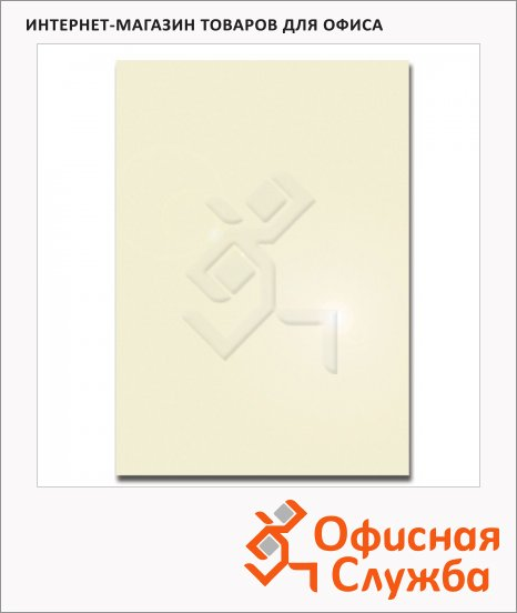 Дизайн-бумага Decadry Металлик шампань, А4, 130г/м2, 50 листов