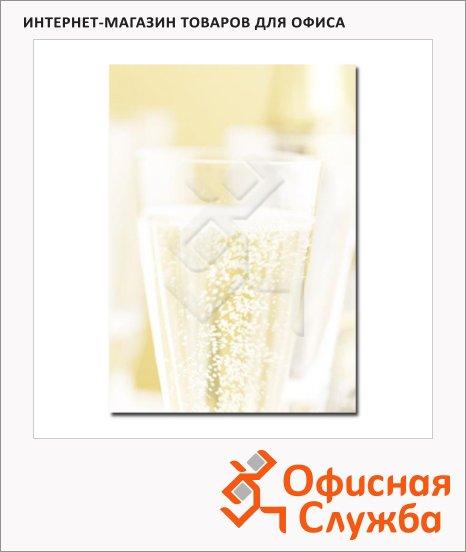 фото: Дизайн-бумага Decadry Star Сollection Бокал шампанского А4, 90г/м2, 20 листов