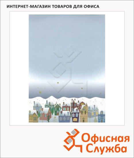 Дизайн-бумага Decadry Classic Collection Рождественский снег, А4, 90г/м2, 12 листов