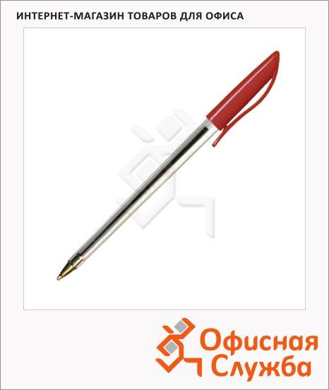 фото: Ручка шариковая SB-10 1мм, красная