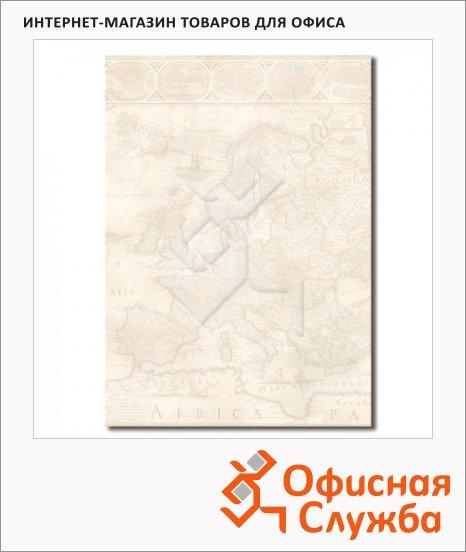 Дизайн-бумага Decadry Старинная карта, А4, 90г/м2, 20 листов