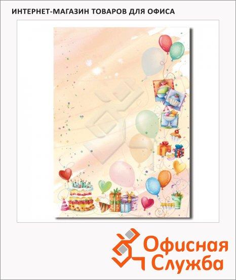 фото: Дизайн-бумага Decadry Вечеринка А4, 90г/м2, 20 листов