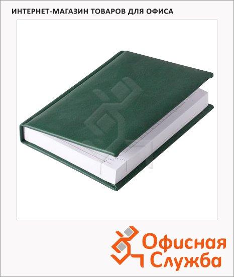 Ежедневник недатированный Brunnen Смарт Софт зеленый, А6, 176 листов
