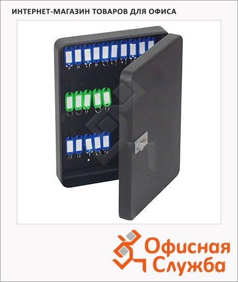 Шкафчик для ключей Office Force на 60 ключей, кодовый замок, 370х280х80мм