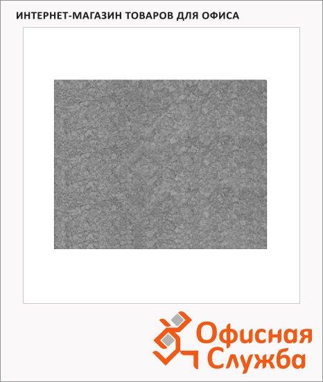 Доска информационная Hopax Infoboard 58х46см, клейкая, без рамы, серая