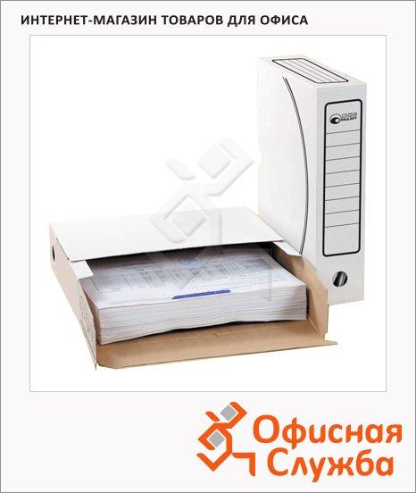 Архивный бокс Промтара Офис Стандарт белый, А4, 75 мм, 203