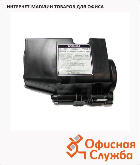 фото: Тонер-картридж Toshiba T-1550E черный, оригинальный