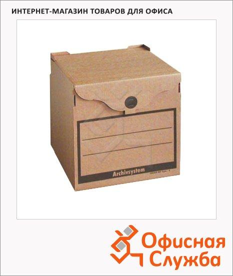 Архивный короб Промтара Офис Стандарт бурый, 330х340х310 мм, 210