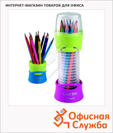 Набор цветных карандашей Maped Color'Peps 12 цветов, 683212