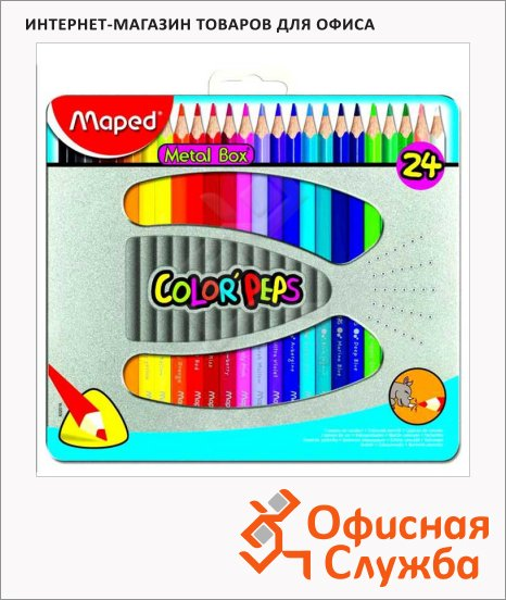 ����� ������� ���������� Maped Color'Peps 24 �����, 832016