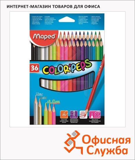 фото: Набор цветных карандашей Color'Peps 36 цветов 832017