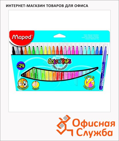 ���������� Maped Color'peps Long Life 24 �����, �����������, ���������