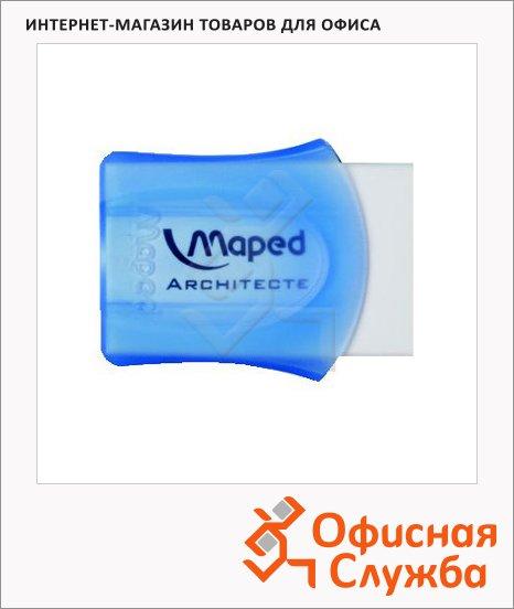 Ластик Maped Architecte белый, в футляре, 511010