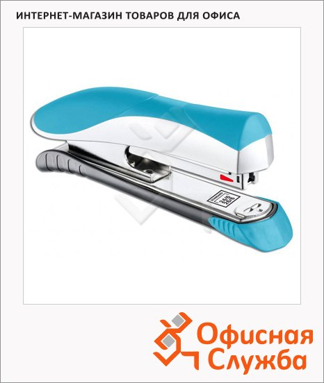 Степлер Maped Ergologic Half Strip, №24/6, 26/6, 25 л, голубой