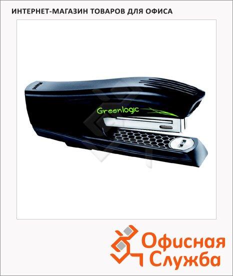 Степлер Maped Greenlogic Half Strip вертикальный, черный
