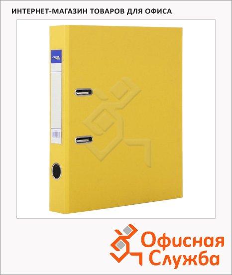 Папка-регистратор А4 Expert Complete Premium желтая, 80 мм
