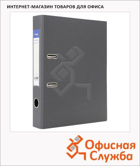 Папка-регистратор А4 Expert Complete Premium серая, 80 мм