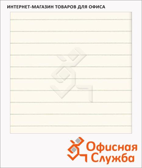 Блокнот Brunnen Filou черный, А6, 32 листа, на сшивке, в линейку