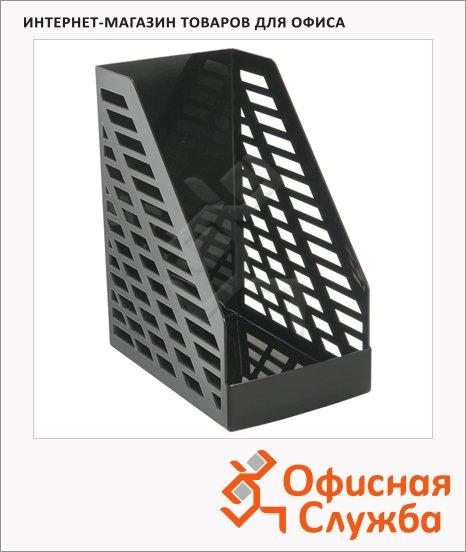 Накопитель вертикальный для бумаг Стамм XXL А4, 160мм, черный, ЛТ901