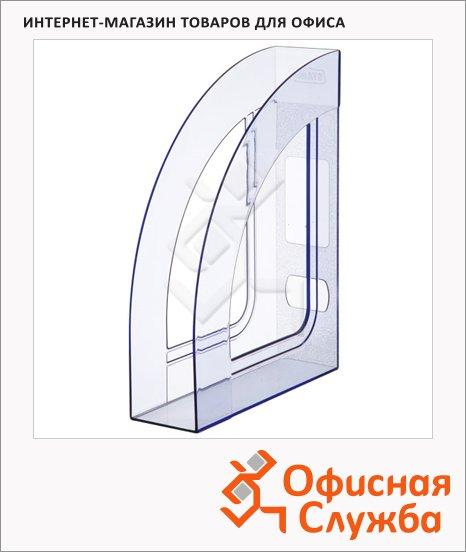 фото: Накопитель вертикальный для бумаг Стамм Респект А4 70мм, голубой, ЛТ146