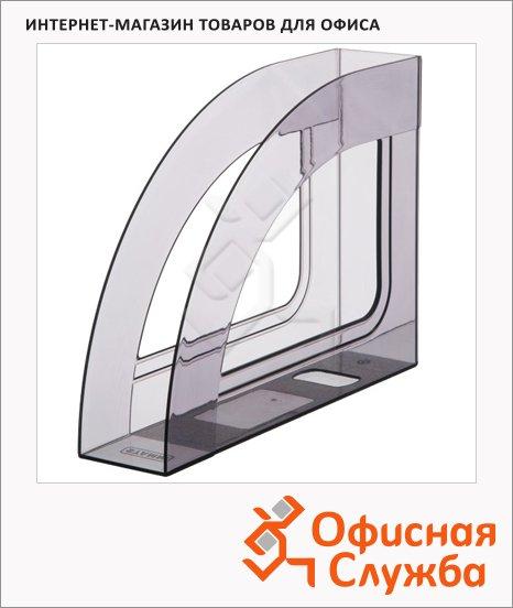 фото: Накопитель вертикальный для бумаг Стамм Респект А4 70мм, серый, ЛТ145