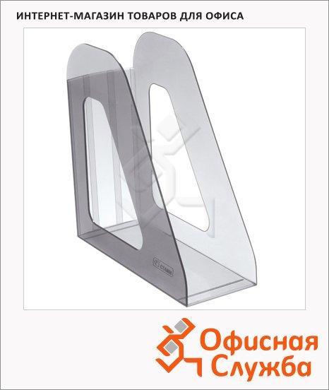 фото: Накопитель вертикальный для бумаг Стамм Фаворит А4 90мм, серый, ЛТ703