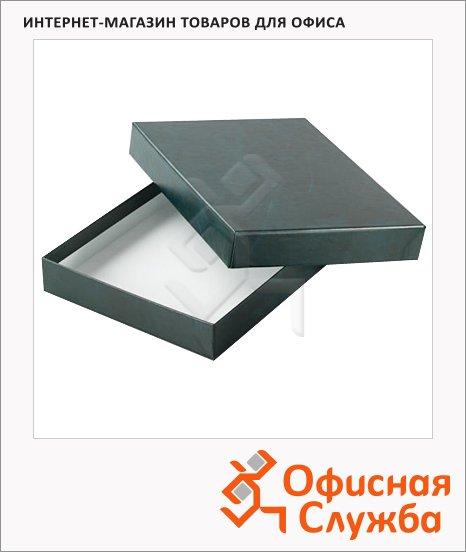 фото: Подарочная коробка для ежедневника Brunnen Эксклюзив зелёная 20.7х28.9 см