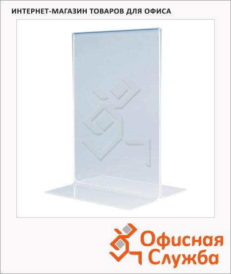 Табличка настольная прямая Magnetoplan А4, 210х94х302 мм, 43113