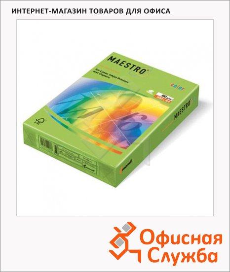 фото: Цветная бумага для принтера Color интенсив зеленый А4, 500 листов, 80г/м2, MA42