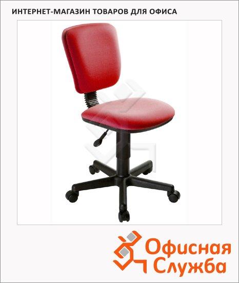 фото: Кресло офисное Бюрократ CH-204NX ткань крестовина пластик, красная