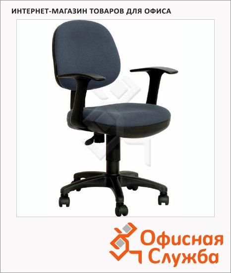 Кресло офисное Бюрократ CH-356AXSN ткань, черная, крестовина пластик
