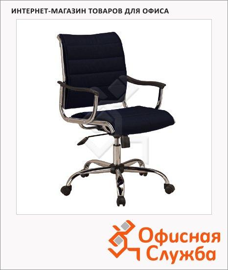 фото: Кресло руководителя Бюрократ CH-994AXSN иск. кожа черная, крестовина хром, низкая спинка