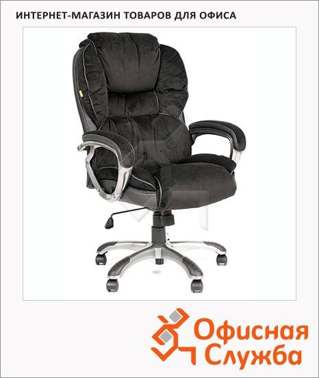 Кресло руководителя Chairman 434 ткань, черная, крестовина пластик