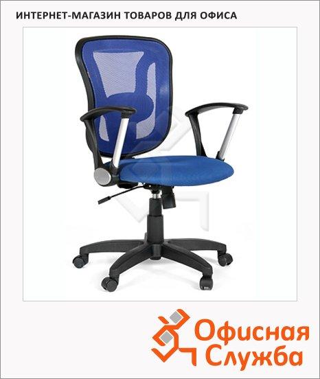 Кресло офисное Chairman 452 ткань, TW, крестовина пластик, синяя