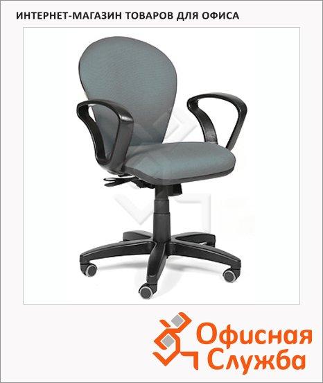 Кресло офисное Chairman 684 ткань, TW, крестовина пластик, NEW, серая
