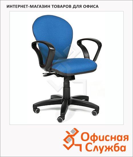 фото: Кресло офисное Chairman 684 ткань JP, крестовина пластик, NEW, синяя