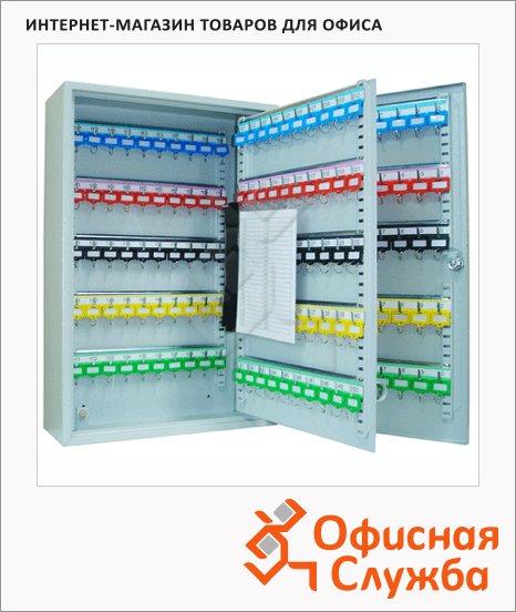 фото: Шкафчик для ключей Office Force на 50 ключей ключевой замок, 550х380х80мм