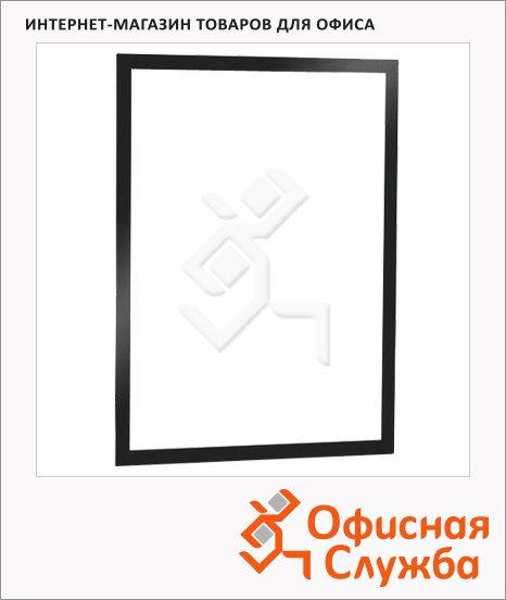 фото: Настенная магнитная рамка Duraframe А3 черная, 487301